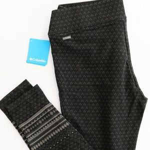 Columbia || Jacquard Leggings - L